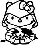 Hello Kitty Assassins Creed