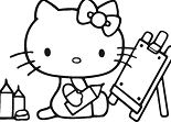 Hello Kitty back to school 1