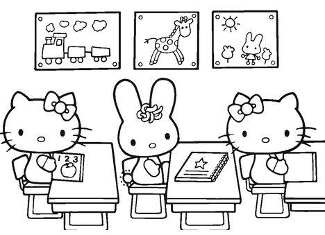 Hello Kitty Back To School