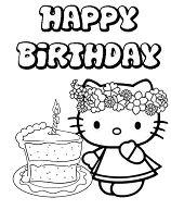 Hello Kitty Birthday Cake 1