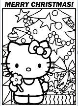 Hello Kitty Christmas 6 Coloring Page
