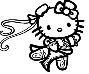 Hello Kitty Chun Li Street Fighter