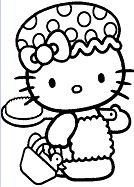 Hello Kitty Cool And Cute