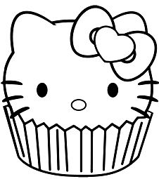 Hello Kitty And Mimmy Coloring Page