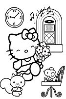 Hello Kitty Dancing 1