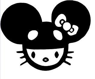 Hello Kitty DJ Deadmau5