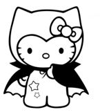 Hello Kitty Dracula