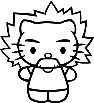 Hello Kitty Einstein