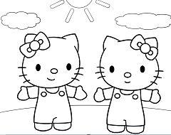 Hello Kitty Et Mimi
