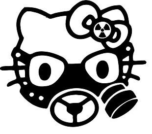 Hello Kitty Gas Mask Military