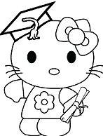 Hello Kitty Graduation Day