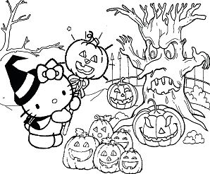 Hello Kitty Halloween 1