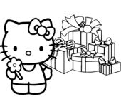 Hello Kitty Happy Christmas