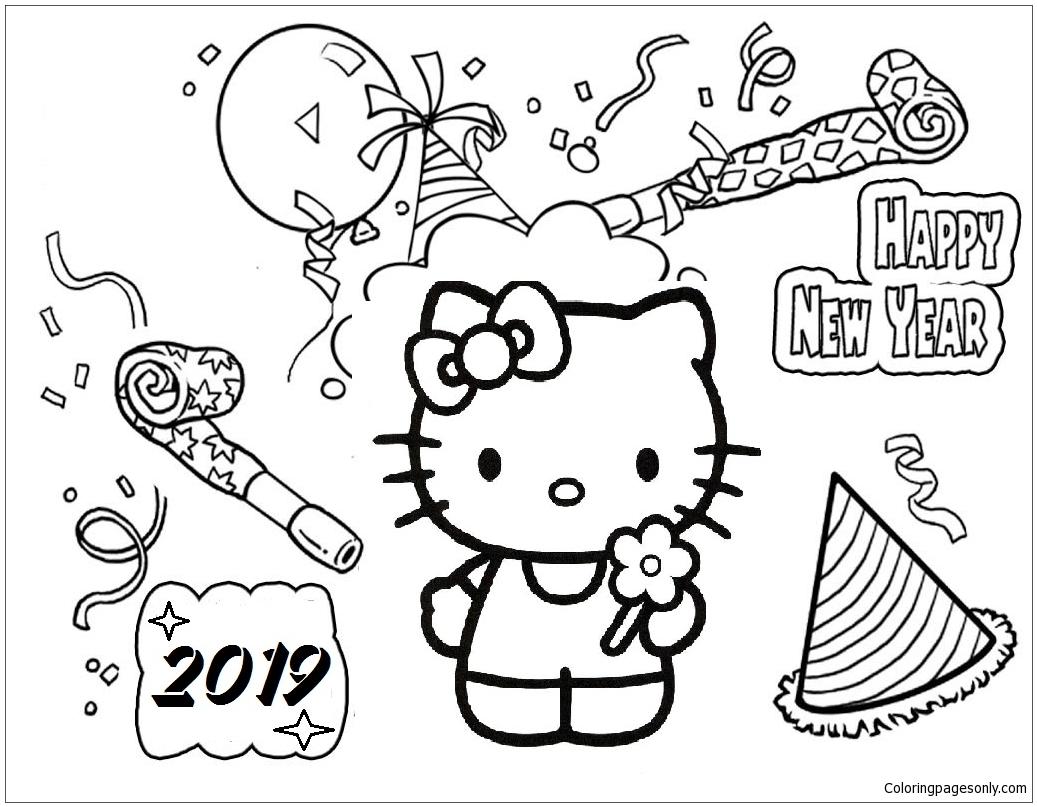 Hello Kitty Hy New Year 2019