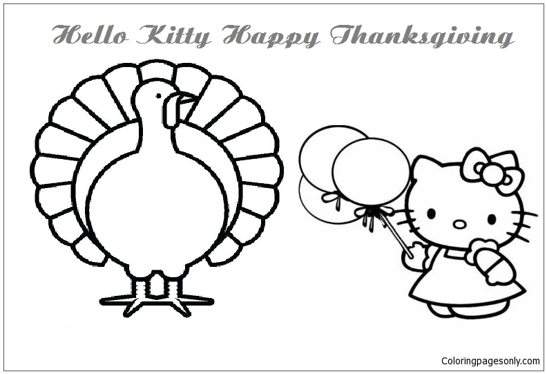 Thanksgiving Coloring, Turkey Coloring Pages Printable ... | 541x792