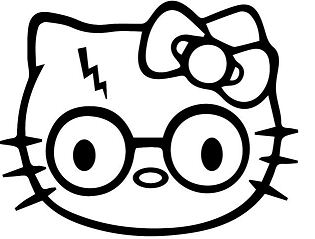 Hello Kitty Harry Potter
