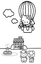 Hello Kitty High In The Sky