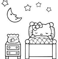 Hello Kitty Is Sleeping