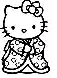 Hello Kitty Japanese Kimono