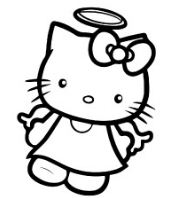 Hello Kitty Lovely As Angel