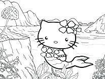 Hello Kitty Mermaid 1