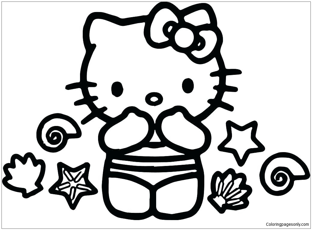 Hello Kitty Of Princess Hell Coloring Pages - Cartoons Coloring Pages -  Free Printable Coloring Pages Online
