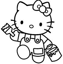 Hello Kitty Painter