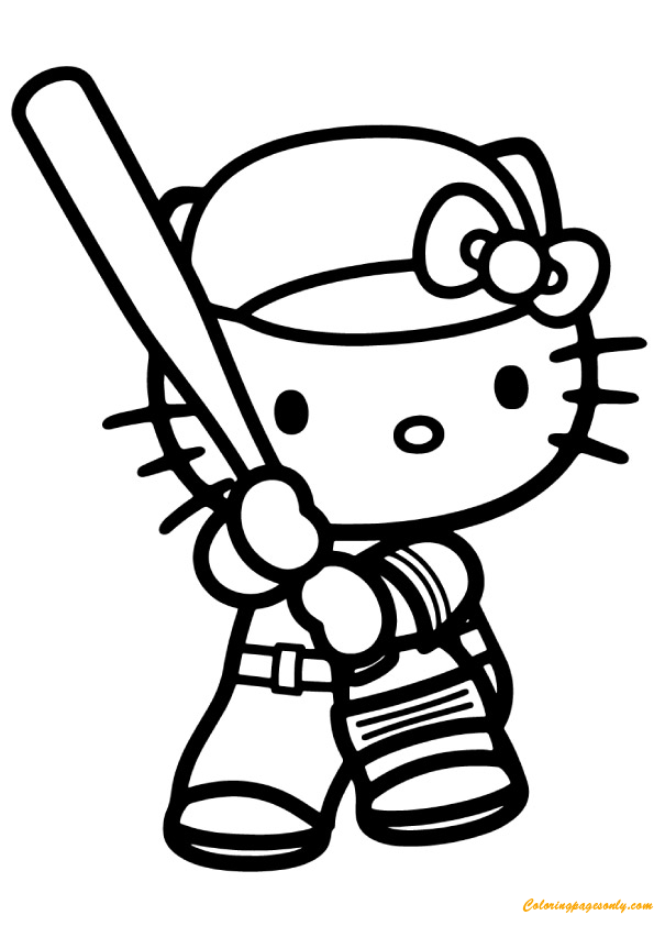 96 Coloring Pages Of Hello Kitty Games
