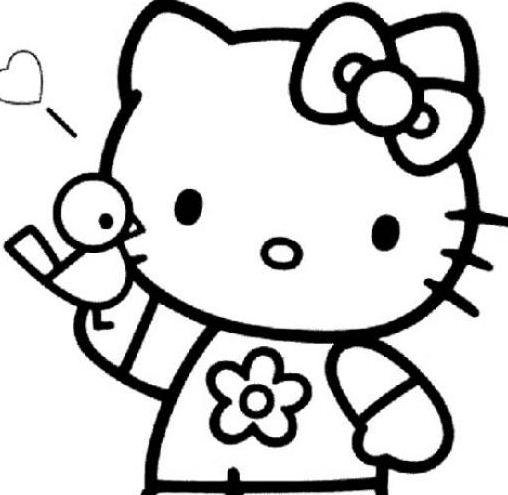 Hello Kitty Portrait
