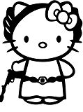 Hello Kitty Princess Leia