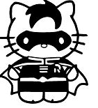 Hello Kitty Robin Batman