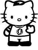 Hello Kitty Sheldon Cooper Big Bang Theory