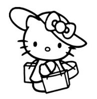 Hello Kitty Shoping
