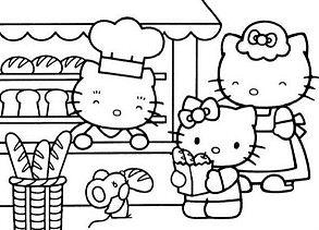 Hello Kitty Shopping Bread