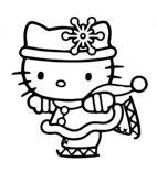 Hello Kitty Skating