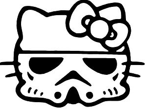 Hello Kitty Stormtrooper