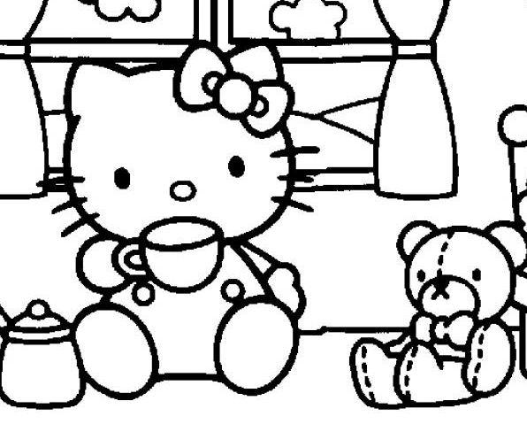 Hello Kitty Tea Time