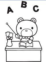 Hello Kitty Teddy Bear Teacher
