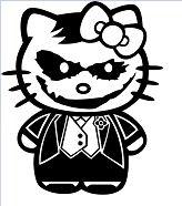 Hello Kitty The Joker