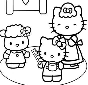 Hello Kitty To Go To Bed