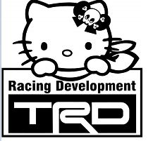 Hello Kitty TRD Toyota
