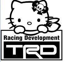 Hello Kitty TRD Toyota