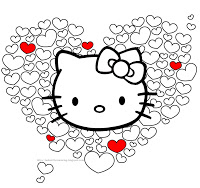 Hello Kitty Valentine Heats