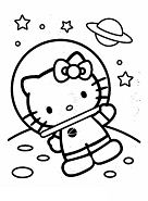 Hello Kitty Wedding Coloring Page
