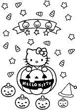 Hello Kitty With Halloween