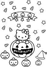 Hello Kitty With Halloween