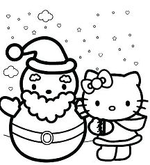Hello Kitty with Happy Holidays