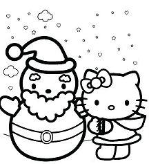Hello Kitty with Happy Holidays