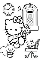 Hello Kitty With Her Friends 2