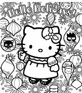 Hello Kitty With Holidays